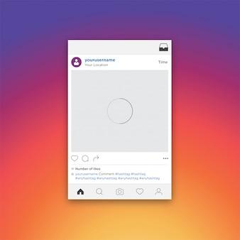 ソーシャルメディアコンセプト写真共有モバイルアプリ