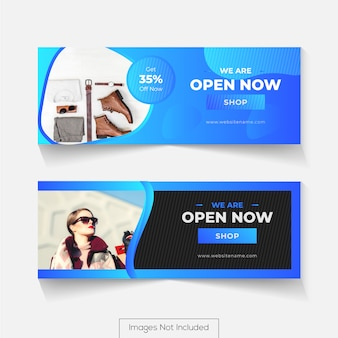 Social media cover design for facebook timeline