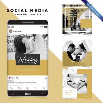 Social media design stylish post template