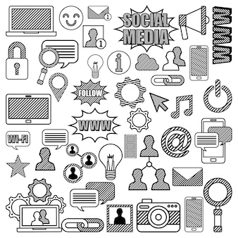 소셜 미디어 디자인