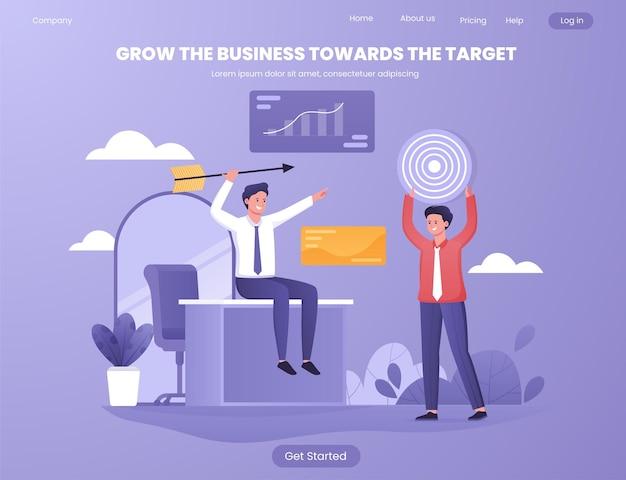 소셜 미디어 디지털 마케팅은 목표를 향한 비즈니스를 발전시킵니다.