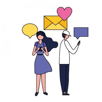 소셜 미디어 디지털