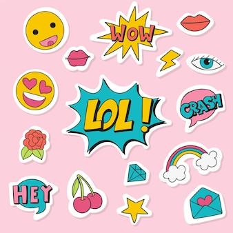Emoji e adesivi per social media