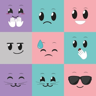 Social media emoticon