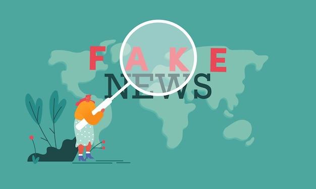 ソーシャルメディア偽造情報の概念