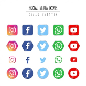 Social media glass edition