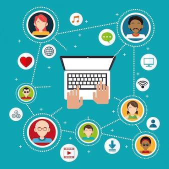 Информация о подключении приложений для социальных сетей