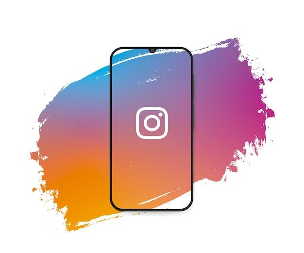 ソーシャルメディアinstagramスプラッシュ