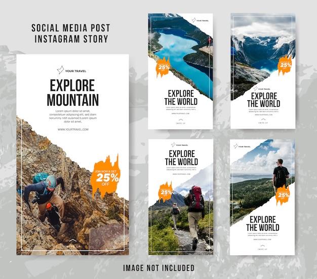Социальные медиа instagram история путешествий