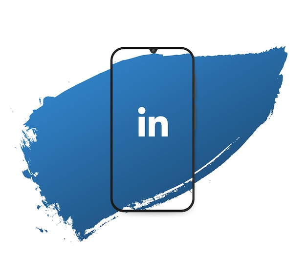 Social media linkedin splash