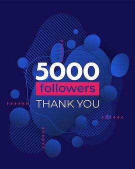 Social media milestone banner