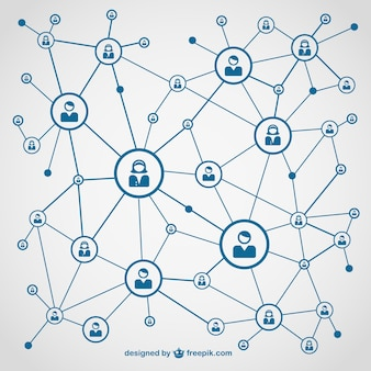 Network vectors photos and psd files free download social media network ccuart Image collections
