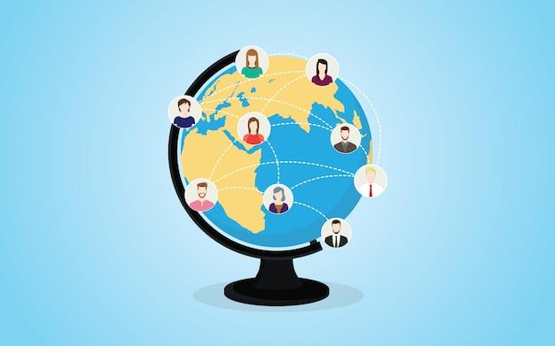 Сеть социальных сетей
