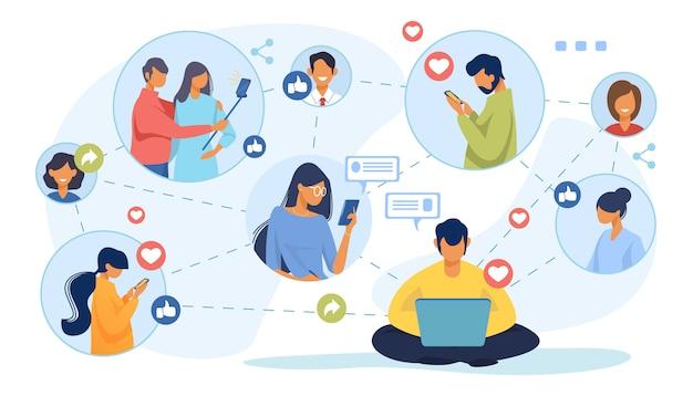 소셜 미디어 네트워크