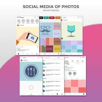 Social Media of Photos