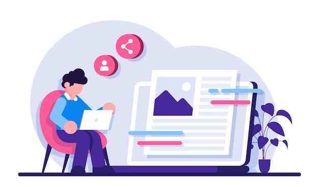 소셜 미디어 플랫폼 인플루언서 개인 브랜드 홍보 최근 스토리 및 게시물