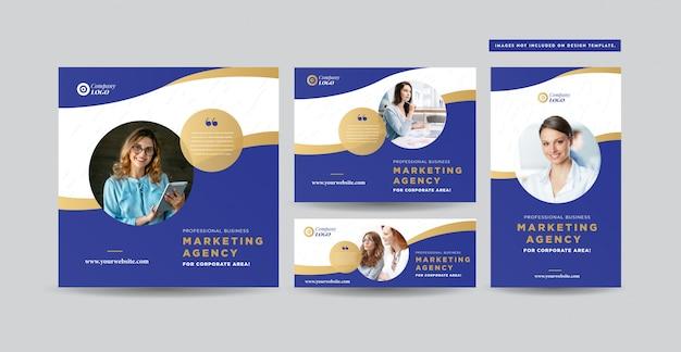 ソーシャルメディアの投稿デザイン|ウェブサイトのバナーデザイン| instagram、facebook、twitter、リンクされた広告デザイン
