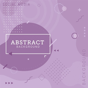 Social media post template abstract background