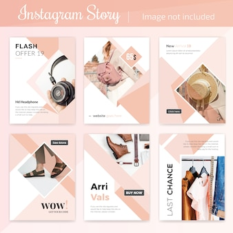 Social media product sale post template