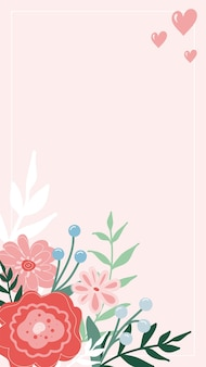 Social media story and post creative vector background template with copy space for text and image