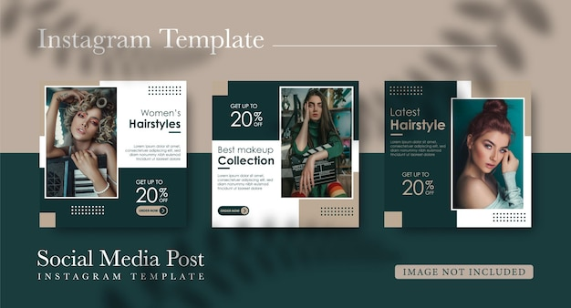 Social media template for women's fashion sale