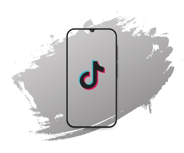 Social media tiktok splash