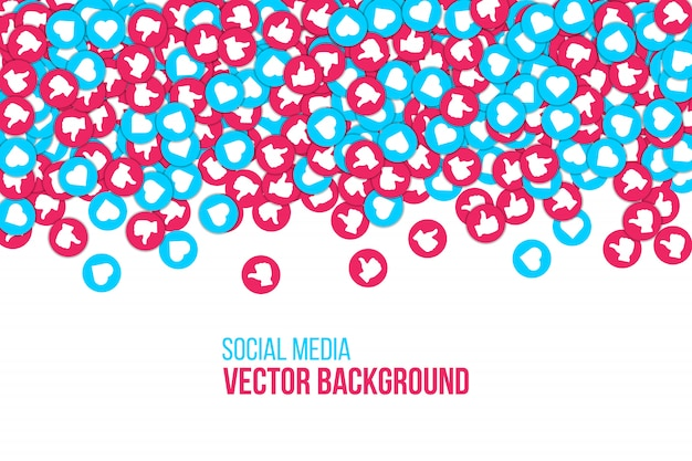 Social network background