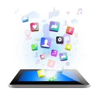 グローバルコンピュータネットワークベクトル画像におけるソーシャルネットワーク通信
