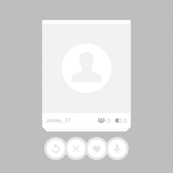 Social network post. frame for your photo.