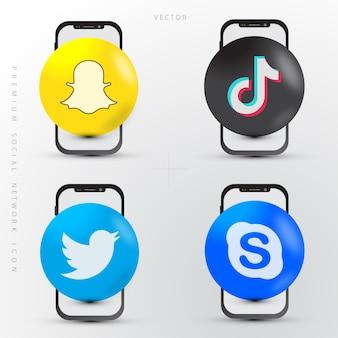 Набор социальных сетей