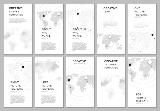 Social networks stories design
