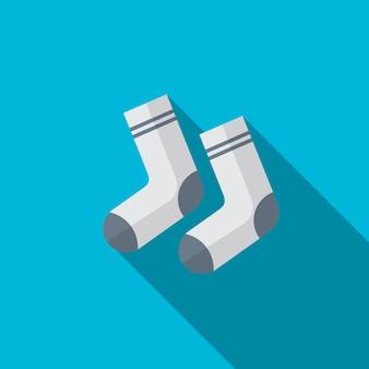 Sock flat icon illustration isolated vector sign symbol