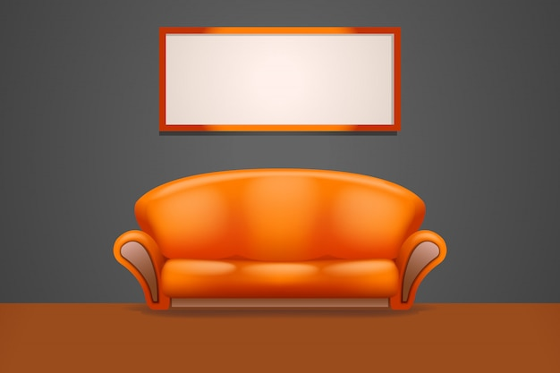 Sofa in the room