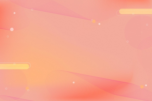 Soft abstract background with wavy lines and geometric shapes