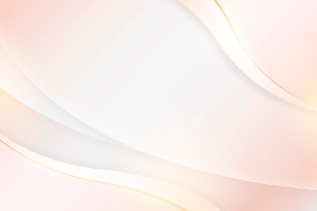 Soft abstract curved background
