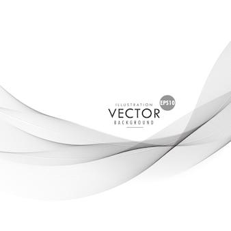Вектор гладкий серый фон дизайн