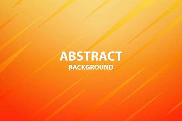 Мягкий и темно-оранжевый с желтым абстрактным фоном