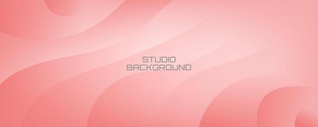 柔らかく滑らかなピンクのカバーバナーと背景の壁紙の背景
