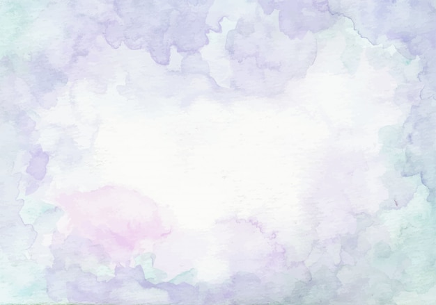 Soft blue abstract watercolor texture background