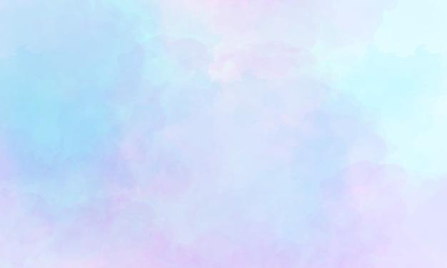 소프트 블루와 핑크 수채화 배경