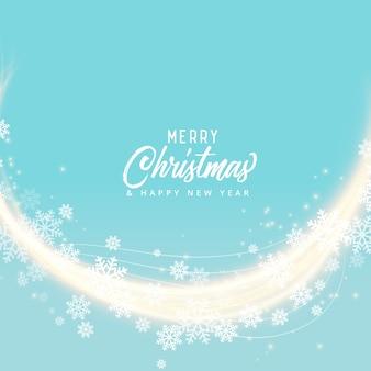 Мягкий синий snoflakes веселый дизайн фона рождество