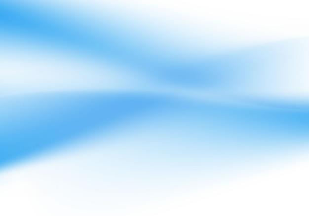 Soft blue wave background vector illustration