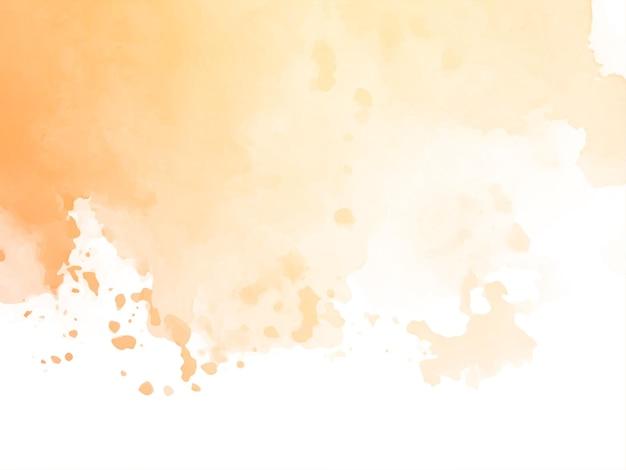Мягкие коричневые акварельные текстуры дизайн фона вектор