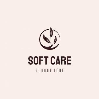 ソフトケアのロゴデザイン