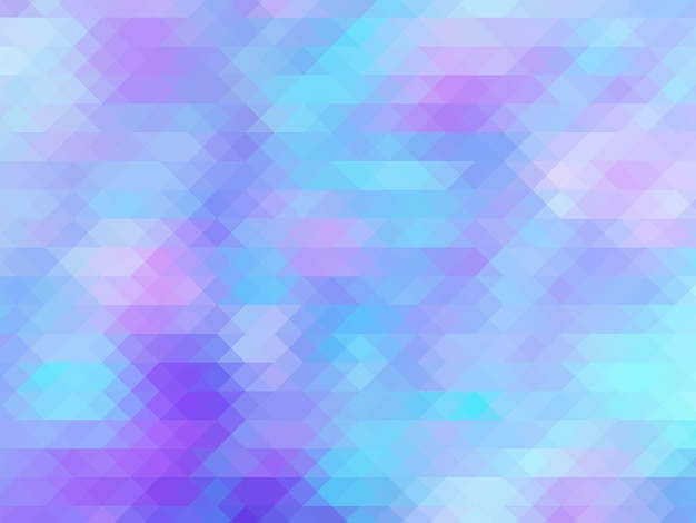 Soft color pastel pink blue polygonal illustration which consist of triangles geometric background t...