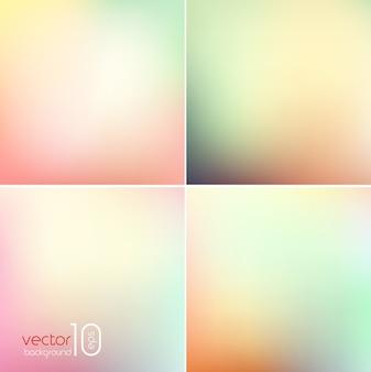 Мягкий цветной абстрактный фон для дизайна