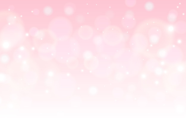 Soft colored bokeh background