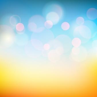 Мягкий цветной гладкий блеск