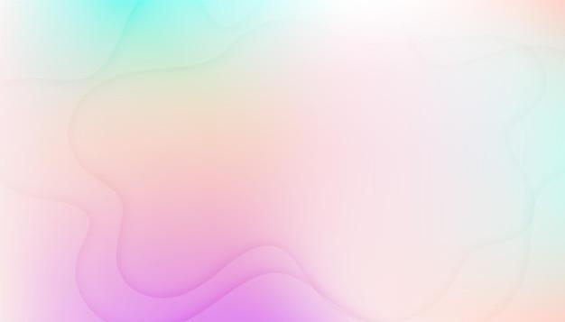 Morbido ed elegante colore pastello sfocatura dello sfondo