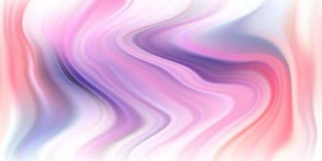 モダンなグラデーションの背景色と柔らかい流体の形